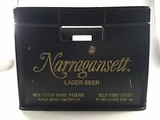 Vintage Narragansett Lager Beer 100% Litter Proof Package hold 12 pack  Man Cave