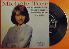 """MICHELE TORR - DANS MES BRAS OUBLIE - """"45 TOURS DE COLLECTION"""" RÉÉD. 1964/2002"""