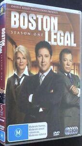 BOSTON LEGAL - SEASON 3 - 6 Disc DVD Set - Region 4 - PAL - Free Post