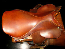 Vintage Crumpco English Leather Saddle In Excellent Condition 17""
