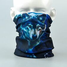 Moon Night Wolf AA237 Tubular Headscarves Bandana Scarf