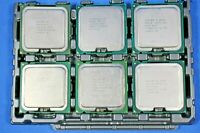 Lot of 6 Intel Core 2 Quad and Pentium CPU Processor LGA775 socket **READ**