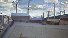 More details for 1:101 tt gauge model railway industrial warehouses 8 x buildings (p-i-002)