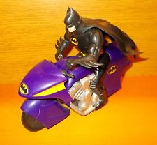 Batcycle lila Batman auf Motorrad 1994 DC Comics The Animated Series Kenner