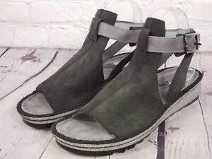 Naot -  Verbena - Leather Mule Sandals - Black - Size Eu 40