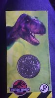 jurassic park the lost world 1997 the Isle of wight coin