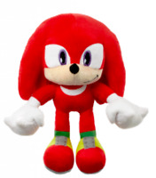 Official Sonic Hedgehog KNUCKLES 30cm Red Cuddly Plush Soft Toy Stuffed Teddy
