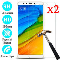 2Pcs 9H Tempered Glass Screen Protector Film For XiaoMi Redmi 4X 5 Plus Note 5A