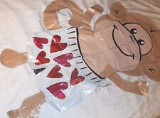 """HUGE Anagram Monkey Foil Helium Balloon Special Occasion Valentine's 44"""" x 25"""""""