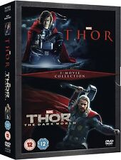 THOR / DARK WORLD Complete Movie Collection DVD Boxset Part 1 2 New Sealed