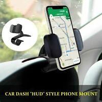 Universal Car Dashboard Cell Phone Clip Holder Mount Stand Cradle HUD Design US