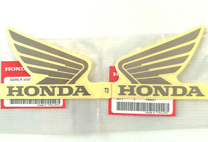 ORIGINAL Honda-CBR Wing Flügel-9cm-SILBER/TRANSPARENT-T2-Sticker-Aufkleber-90mm