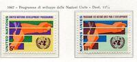 19072) UNITED NATIONS (New York) 1967 MNH** Devel. Program