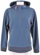 THE NORTH FACE Womens Fleece Hoodie Jumper Size 18 XL Blue Polyester  KS02