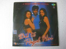 Dil to Pagal Hai Uttam Singh Hindi LP Record Bollywood India Mint-1619
