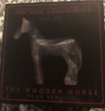 Neca Official Blade Runner 2049 Toy Wooden Horse Prop Replica Nycc 2017