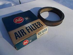70 71 72 Pontiac Tempest 6 Cyl AC GM Air Filter A169CW 5649797 Never Installed