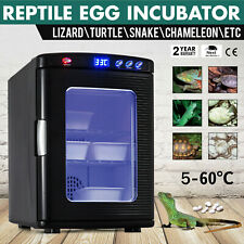 Reptile Egg Incubator Turtle Hatching Lizard Snake Automatic BlueLight