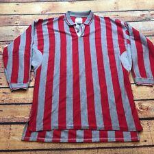 90s VTG COLORBLOCK Wide Striped RUGBY Polo L Shirt UNION BAY Sport VAPORWAVE