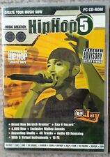 EJay HipHop 5 PC CD-ROM de création musicale Remixing 4000+ Sons Brand New & Sealed