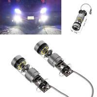 2x  H3 LED Fog Light 200W Super Bright CREE Chips Car Driving Bulb White 12/24V~