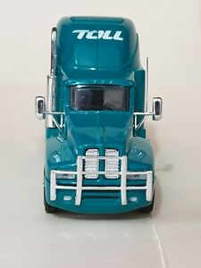 Kenworth T600 Toll Group prime mover and tanker trailer TRUX 1:64 Diecast Model