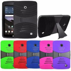 For LG G Pad F 7.0 Pad F 8.0 Shockproof Armor Rugged Tough Stand Box Case Cover
