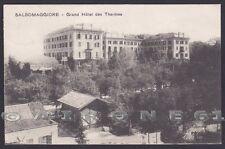 PARMA SALSOMAGGIORE TERME 188 ALBERGO GRAND HOTEL DES THERMES Cartolina v. 1922