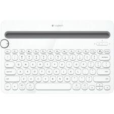 Logitech K480 Bluetooth Multi-Device Keyboard Weiss kabellose Tastatur