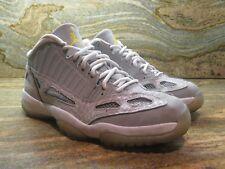 2007 Nike Air Jordan 11 XI Retro Low IE SZ 9 Cool Grey Silver Zest OG 306008-072