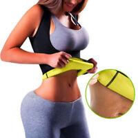 Women Slimming Sweat Yoga Vest Body Shaper Waist Trainer Corset Shapewear #JT1