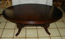 Oval Cherry Coffee Table by Thomasville  (CT44)