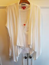 LADIES MONSOON CREAM TOP SIZE 16 & cream cardi size 16 20.00 for both items new