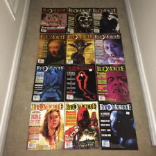 Rue Morgue Movie Magazine Lot of 12 - 41 47 49 51 52 53 54 56 57 58 59 61 Horror