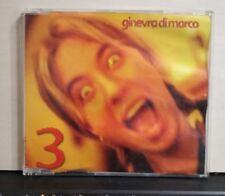 GINEVRA DI MARCO - 3 radio vers. 4,16 - NERETVA voce M.GAZZE 3,49 - cds  PROMO