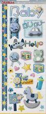 Hobbyfun Stickers 3451-305 Auto-collants naissance Bébé Garçon Baby Boy