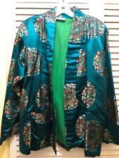 Vintage Tibetan Silk Jacket