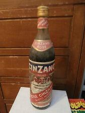 Bottiglia vintage Vermouth CINZANO Rosè 1L liquore bar collezione