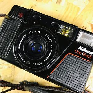 Classic Tested Nikon L35AF2 One Touch 35mm Point And Shoot Camera