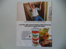 advertising Pubblicità 1975 OLIO CUORE