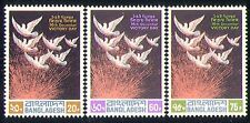 Bangladesh 1972 Doves/Birds/Animation/Victory 3v n29862