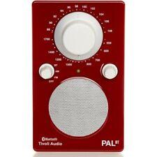 Tivoli PAL BT Portable Audio Laboratory Tabletop Radio - Gloss Red / White