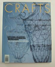 Crafts Magazine 163 March April 2000 Celestino Valenti Walter Pater