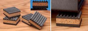 TUBE AMP IsoCorX-IsoBlocks VIBRATION ISOLATION DAMPERS FOR TURNTABLES-PREAMP-AMP