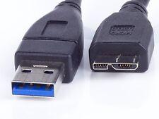 USB 3.0 Datenkabel, Ladekabel  Stecker A auf B Micro Stecker  45-50cm