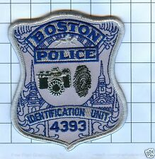 Police Patch - Massachusetts - Boston Police Identification Unit