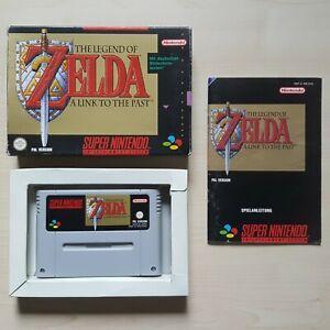 SNES Zelda A Link to the Past in OVP mit Anleitung Super Nintendo Spiel Boxed