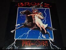 BRONZ - TAKEN BY STORM - SEALED US VINYL LP