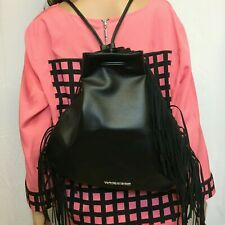 NWT Victoria Secret Women's Backpack W/ Fringe Accents