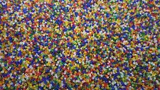 3000 Frosted Transparent Glass Seed Beads Size 11/0 2mm 50g BUY 4 FOR 3